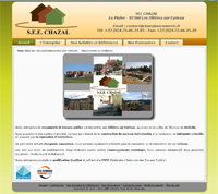 Site vitrine de la société SEEC